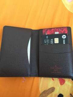 LV格仔卡片包,99%新真品,有盒,塵袋,無單