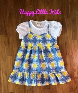 Poppy Dresses (size 7, 3-4yrs)