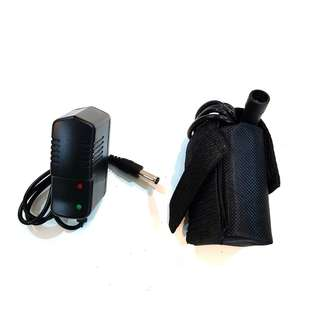 Battery Pack 4.2V 4800mAh With Charger for HeadLight