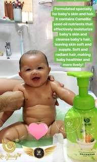 Wowo Baby Shampoo and Bath (300ml)