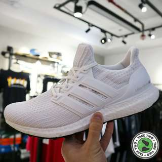 "ADIDAS ORIGINALS ULTRA BOOST 4.0 ""TRIPLE WHITE"""