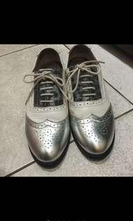 🚚 海星家內增高牛津鞋24.5號