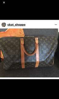 LV authentic Keepall 45