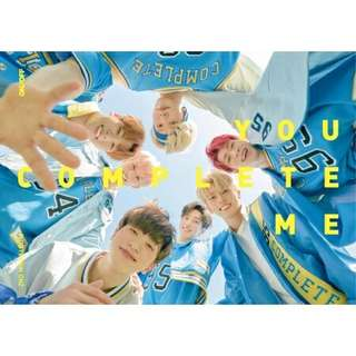 [PREORDER] ONF 2ND MINI ALBUM - YOU COMPLETE ME