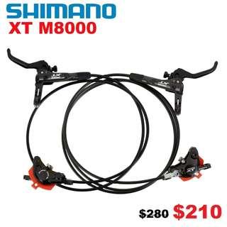 Shimano XT M8000 Hydraulic Disc Brake-------- (XTR M9020 XT M8000 M8020 M785 SLX M7000 M675 M315 MT2 MT4 MT5 MT5E MT6 MT7 MT8 Trail) Dyu