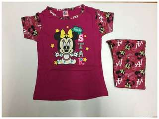 Minnie pyjamas hari raya
