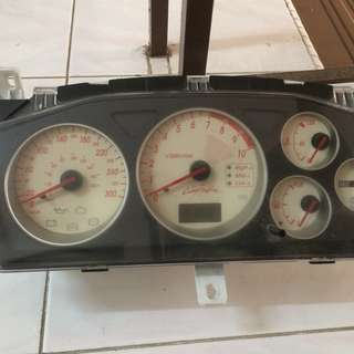 Ralliart Meter Sport Cluster S3 - Rare Version