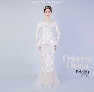 Princess diana leeyana rahman size m