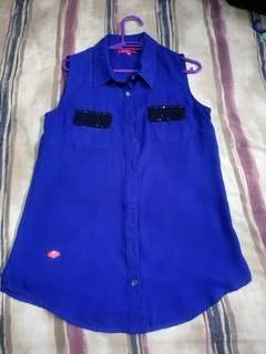 Candy Blouse (Blue)