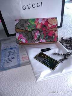 Gucci mini sling bag/lelong murah/ Ready stok