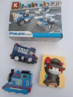 Take all 👨Lego police series plus👨Like New