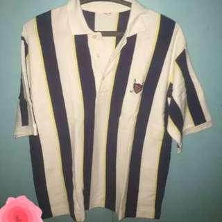 Vintage Polo Ralph Lauren Stripes Collared Shirt