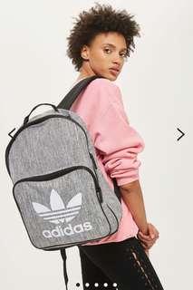 Grey Backpack by Adidas Originals