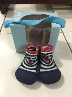 Attipas Walking Shoes Marine Red