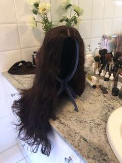 """High quality synthetic 16"""" wig cap less body wave"""
