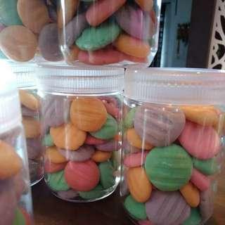 German pastel cookies