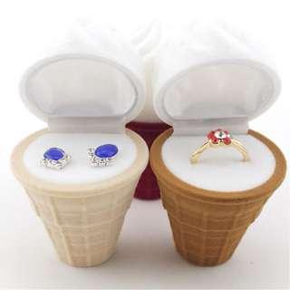 Ice Cream Ring Box