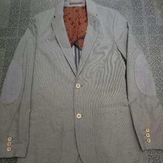 Authentic TED BAKER LONDON Casual Blazer Elbow Patched