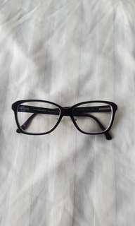 Black Burberry glasses frames