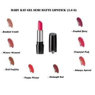 Gel Semi-matte Lipstick (3 free 1)