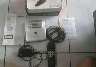 Panasonic cd/vcd player