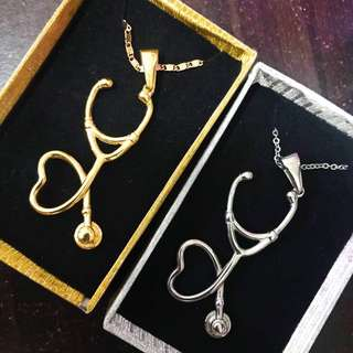 Stethoscope Necklace (Stainless)