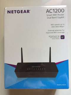 Netgear AC1200 Wireless Router Dual Band