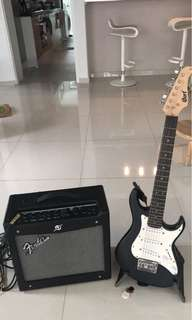Electric Guitar with Fender