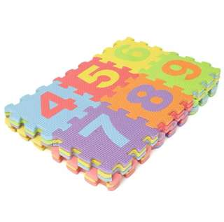 36Pcs Soft EVA Foam Baby Kids Play Mat Alphabet Number Puzzle Jigsaw