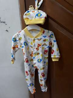 Sleepsuit with Hat