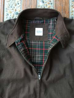 LUXE HARRINGTON IN BROWN  size M like New