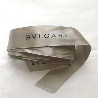Bvlgari Bulgari gift ribbon for bag wallet box 禮盒絲帶