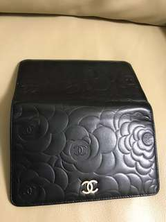 Chanel 山茶花銀包