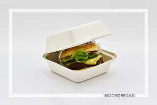 Bio Burger Box (M) 50 pcs