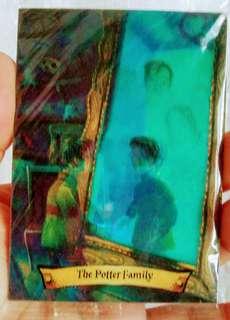 HARRY POTTER HOLOGRAM CARD