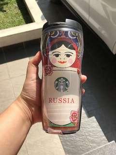 Starbucks Tumbler Russia Matryoshka