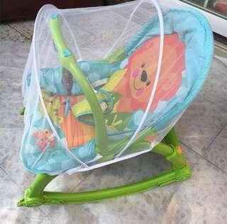 Cart mosquito net, baby rocking chair mosquito net