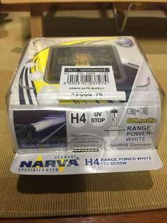 Narva headlight bulbs one set (white)