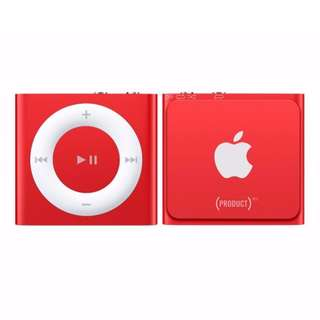 Apple Ipod Shuffle 2GB ( RED PRODUCT )