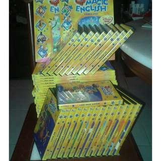 DISNEY MAGIC ENGLISH & DVD COMPLETE SET