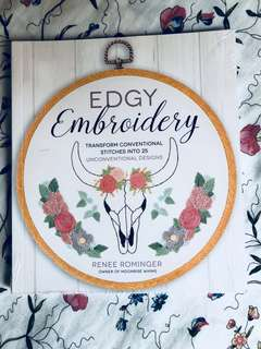 BNIP Edgy Embroidery book