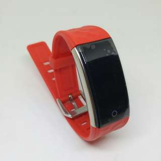 Red Fitness Tracker