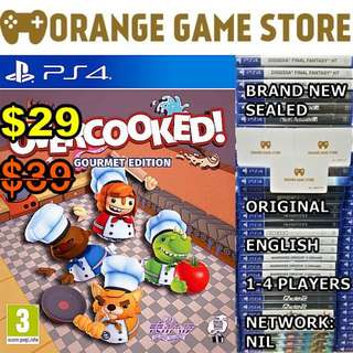 PS4 Overcooked