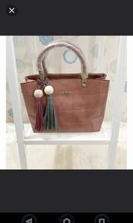 NEW Elegant Import Brown Bag