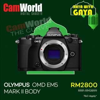 Olympus OMD EM5 Mark II Body