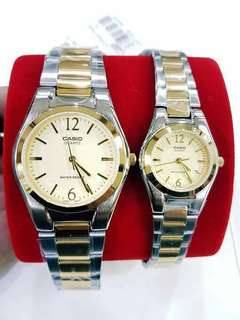 Original Casio couple watch also available per piece  1850.00 each