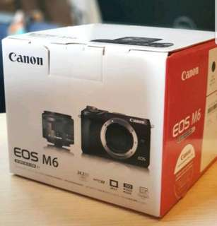 Brand New EOS M6 with M15-45 IS STM