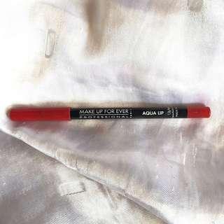 Makeup forever red lip liner