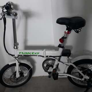 Foldable E-Bicycle