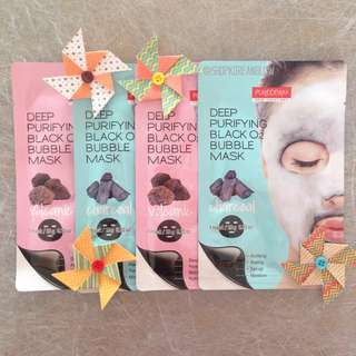 Purederm Deep Purifying Bubble Mask